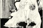 Zeichnung zu »Fleurettens Purpurschnecke«, Die Braut